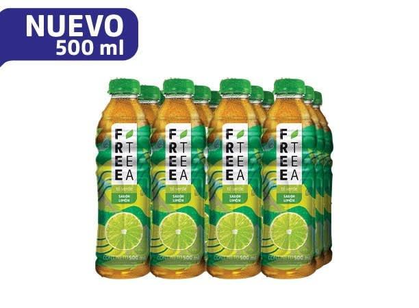Free Tea Verde Sabor Limón 500 ml