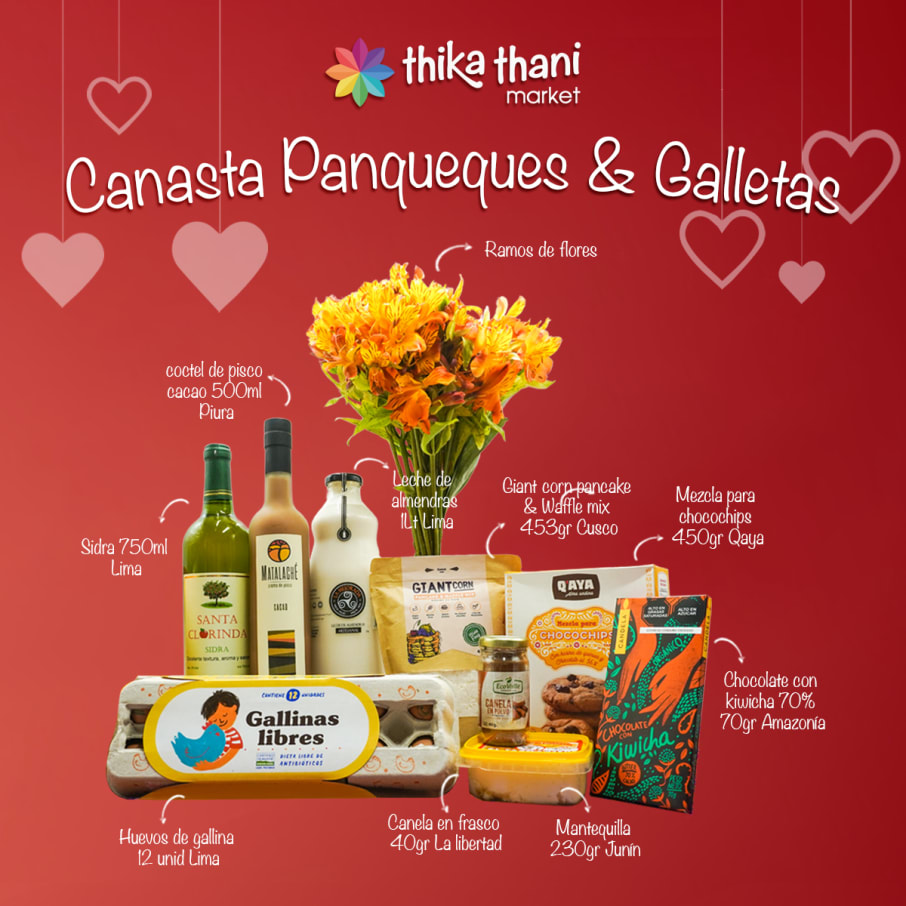 CANASTA PANQUEQUES & GALLETAS