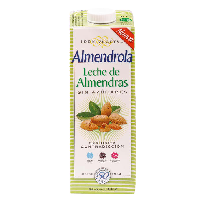 LIQUATS LECHE DE ALMENDRAS SIN AZÚCARES
