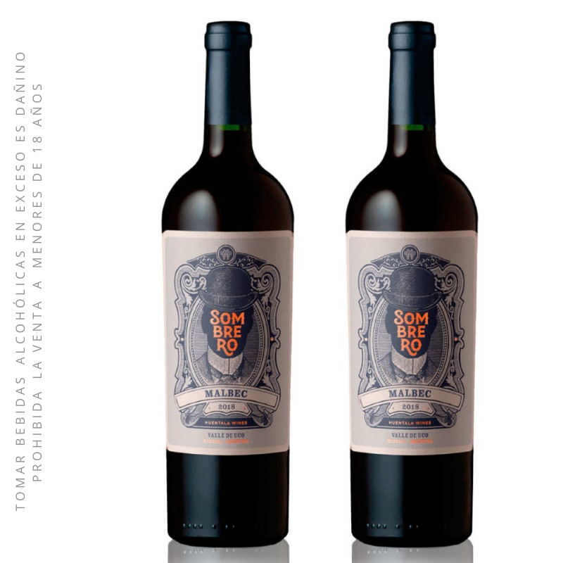 02 Vino Tinto SOMBRERO Malbec