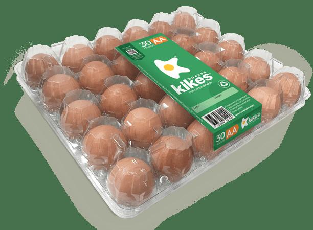 Huevos Kikes x 30 Unds AA