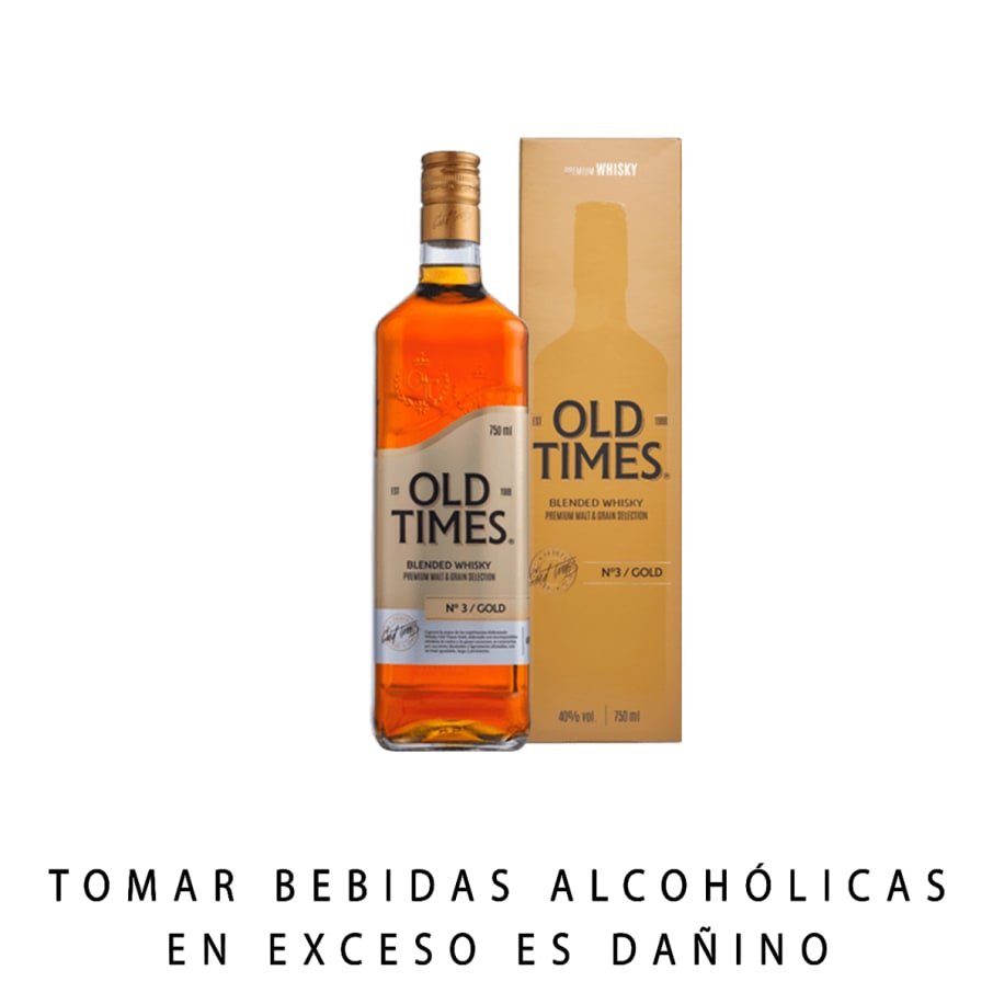 WHISKY OLD TIMES GOLD