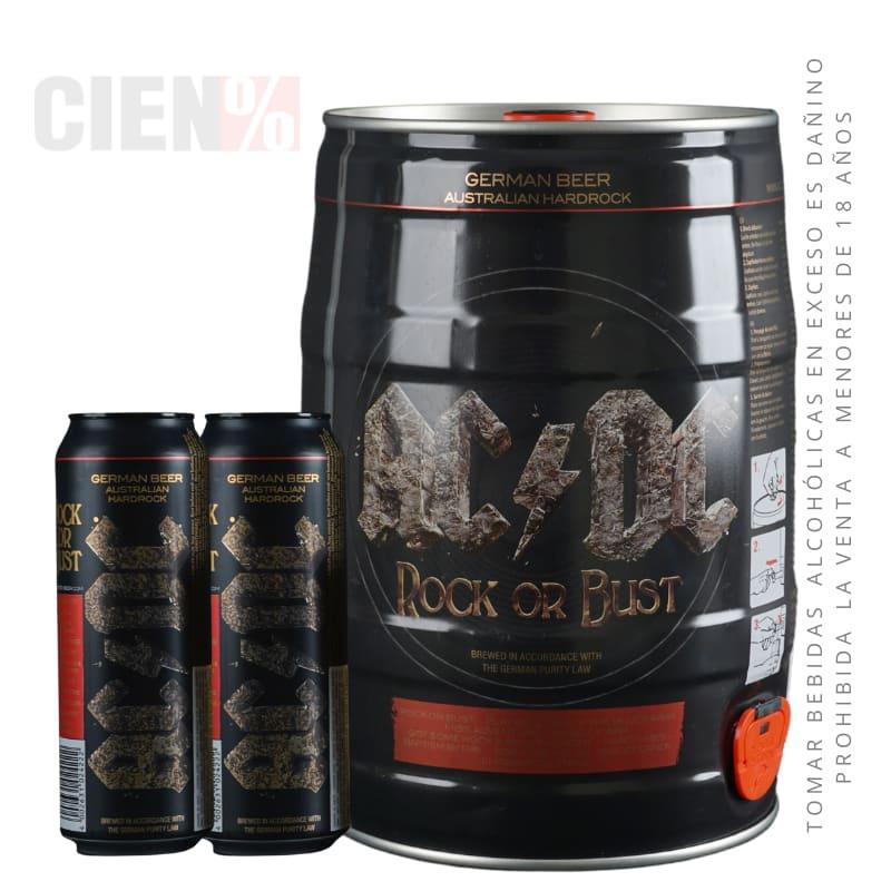Barril ACDC 5L + 02 Latas 568 ml