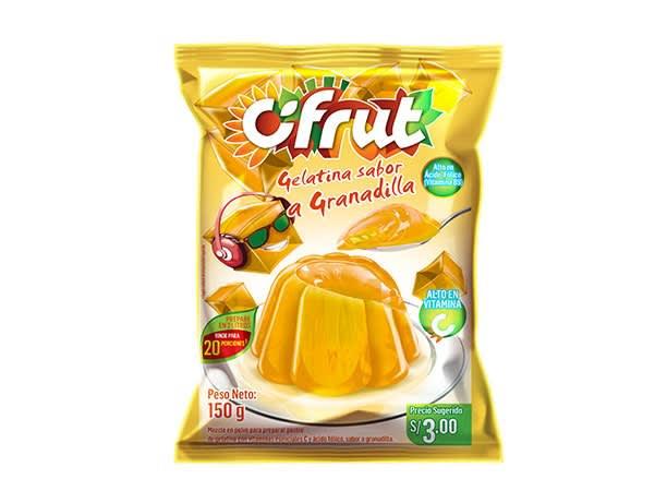 Gelatina Cifrut sabor a Granadilla