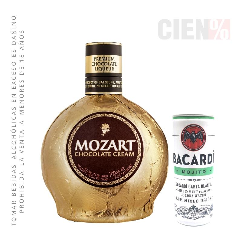 Mozart + Bacardí Mojito Lata