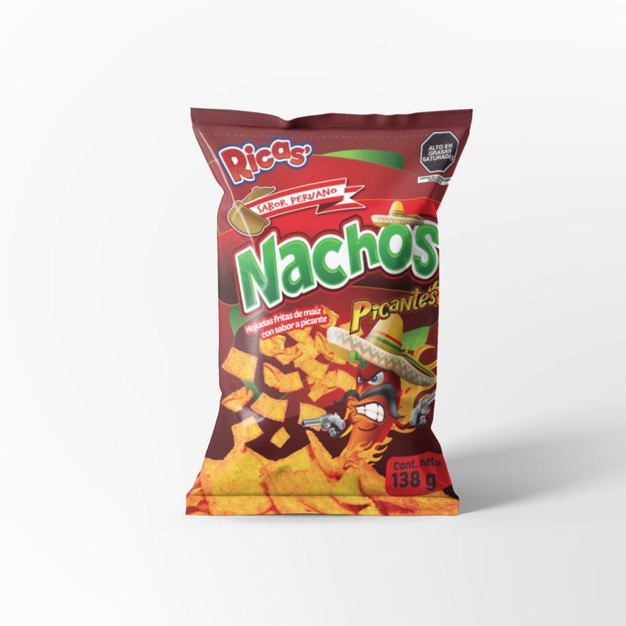 Papiricas Nachos Picantes de 138 gr