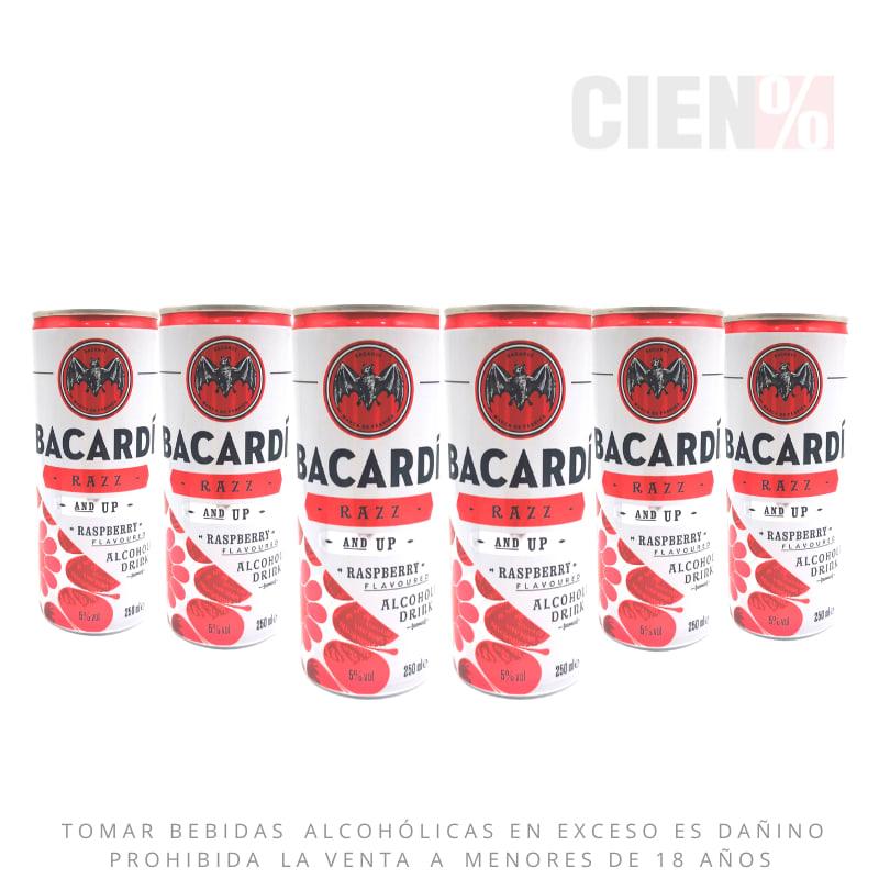 Six Pack Bacardi Berry Lata 250 ml
