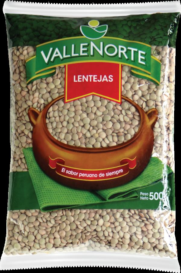 Lentejas Valle Norte 500gr