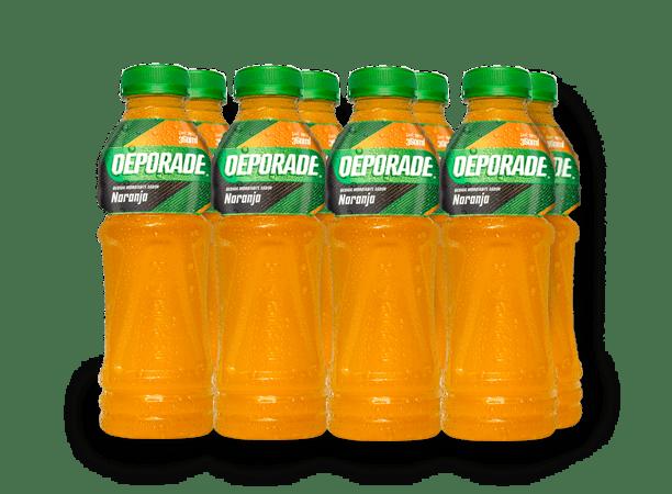DEPORADE NARANJA PET NO RETORNABLE 360 ML 8