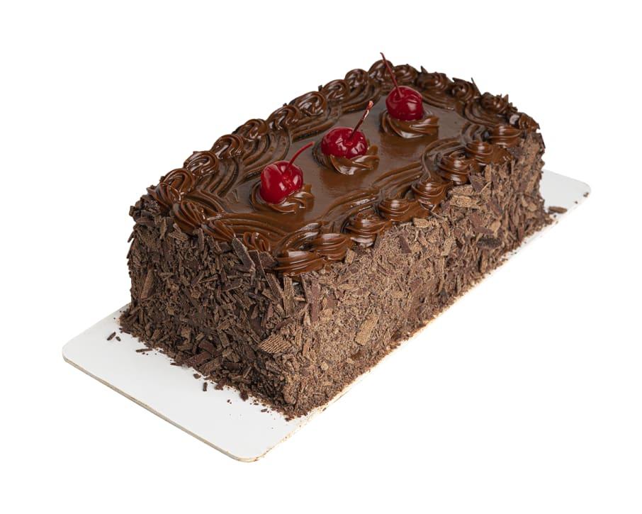 Barra torta de chocolate