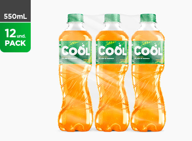 Cool Naranja 550 ML