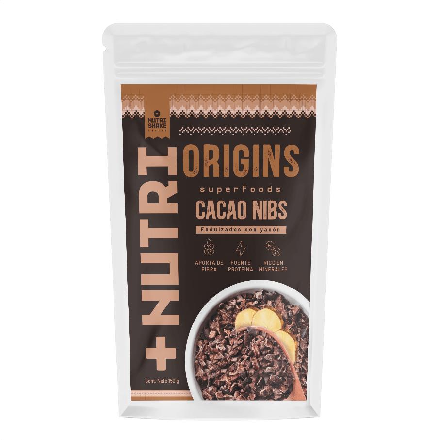 Cacao Nibs Endulzados con Yacón