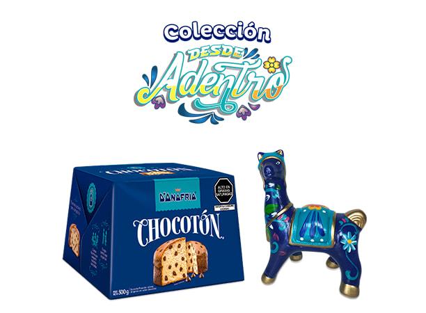 Pack Llamita con Chullo Azul Chocotón