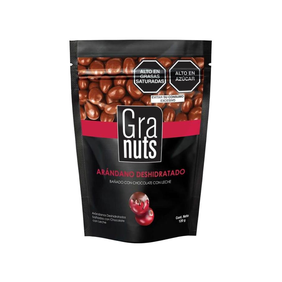 Granuts Chocolate y Arandano Doypack 120gr