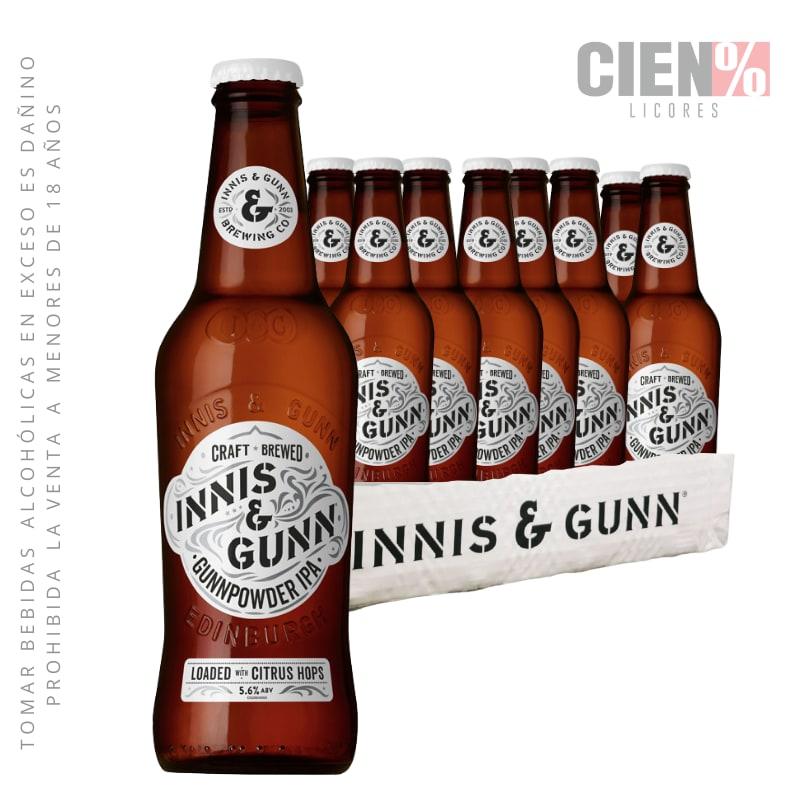 12 Pack Cerveza Innis IPA 330ml