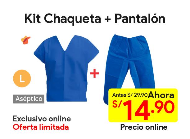Kit Chaqueta + Pantalon Descartable Talla L