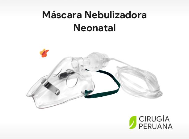 Máscara nebulizadora neonatal