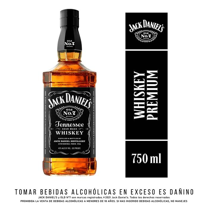 Whiskey Jack Daniels Old 750ml