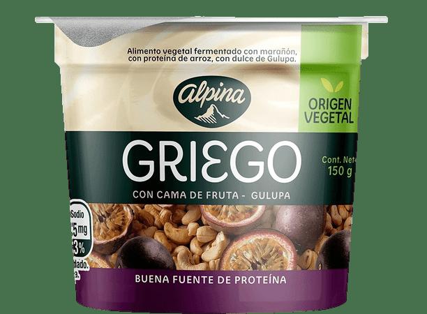 Yogurt  Griego Vegetal Sabor Gulupa 150 gr