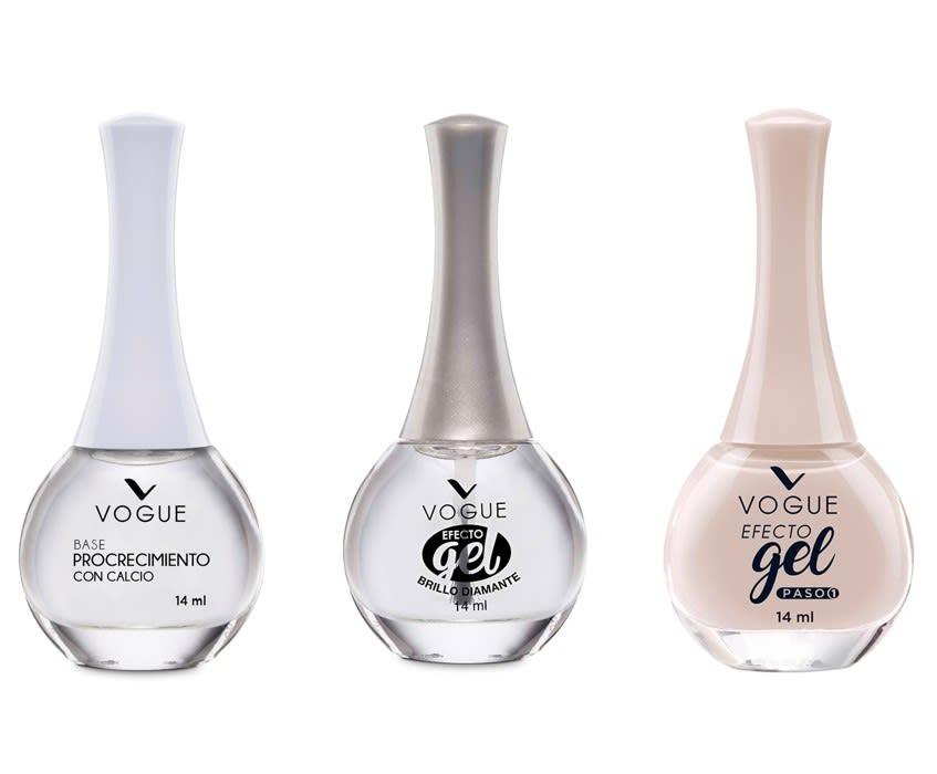 Pack completo Esmalte Efecto Gel tono Inmensidad Vogue
