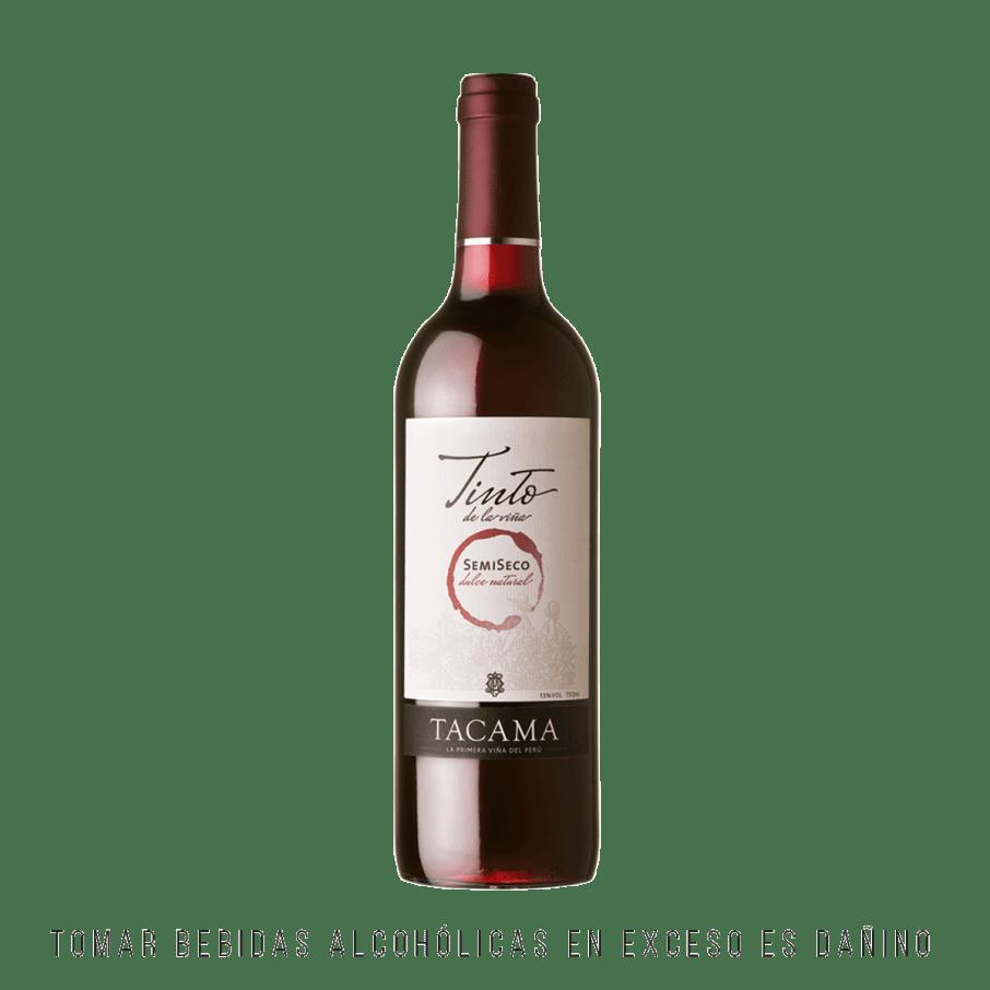 Tacama Vino Tinto Semi Seco 750ml