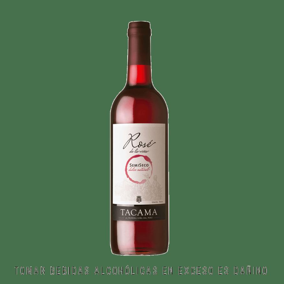 Tacama Vino Rose Semi Seco 750ml
