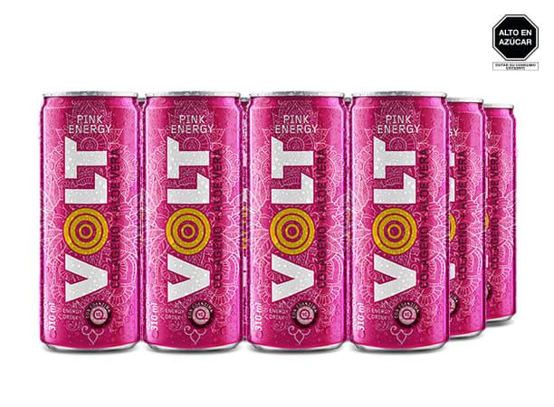 Volt Pink Sabor Uva 310ml LATA
