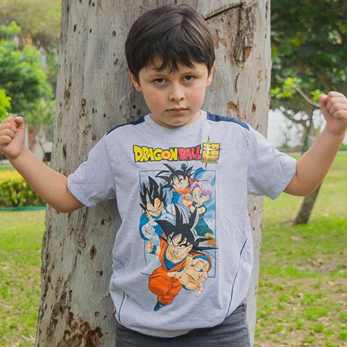 POLO NIÑO MC DRAGON BALL