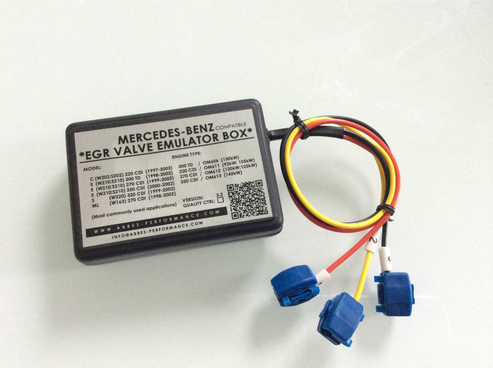 Egr Valve Emulator Box Mercedes C E S Ml 220 Cdi 270cdi W163 Wiring Diagram Detailed Photo Of The Product
