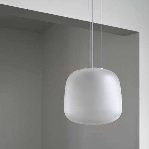 AB Small Pendant - Frosted Clear