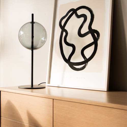 Point Table Lamp - Black