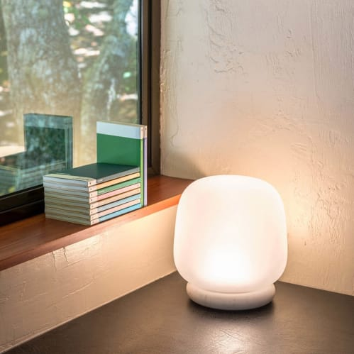Ab Table Lamp - Frosted Clear