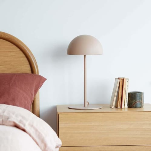 Dome Table Lamp - Almond