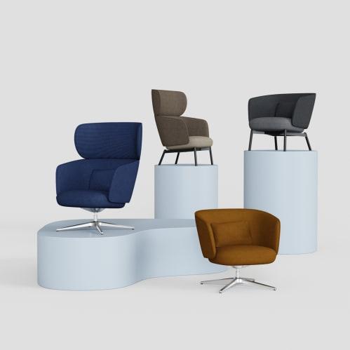 Beos Lounge Chair - Dark Grey