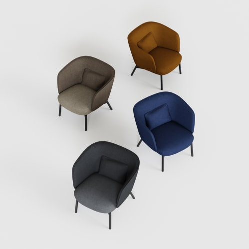 Beos Lounge Chair - Navy