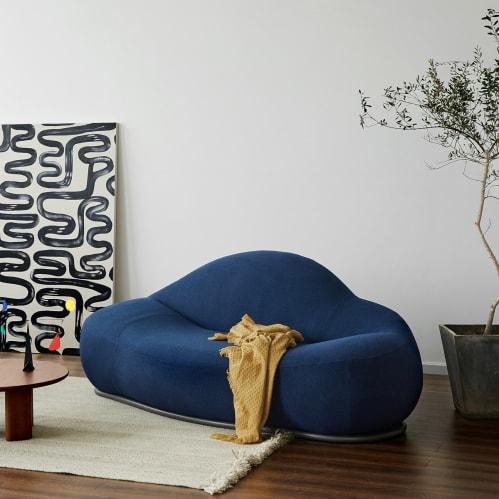 Cloud 2 Seater Sofa - Navy