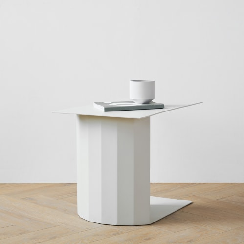 Doric Side Table Small - Light Grey
