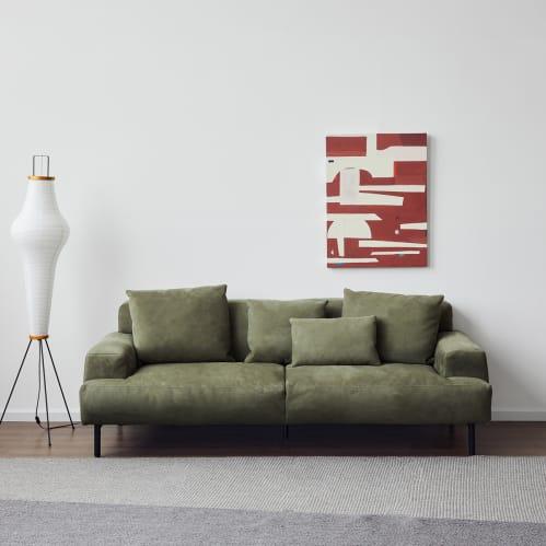 Island 2 Seater Sofa - Green