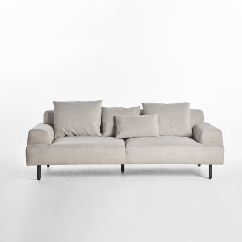 Island 2 Seater Sofa - Light Grey