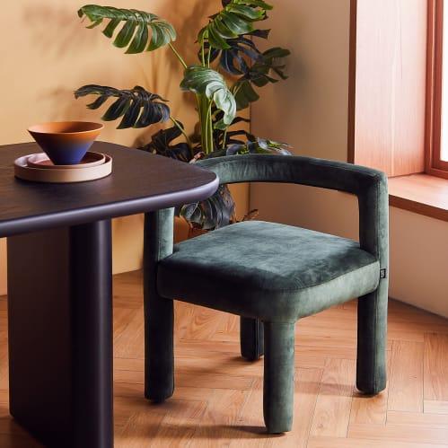 Mate Dining Chair - Forest Green Velvet