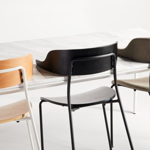 Mou Dining Chair - Black