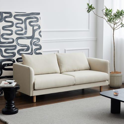 Nomi 2 Seater Sofa - Beige