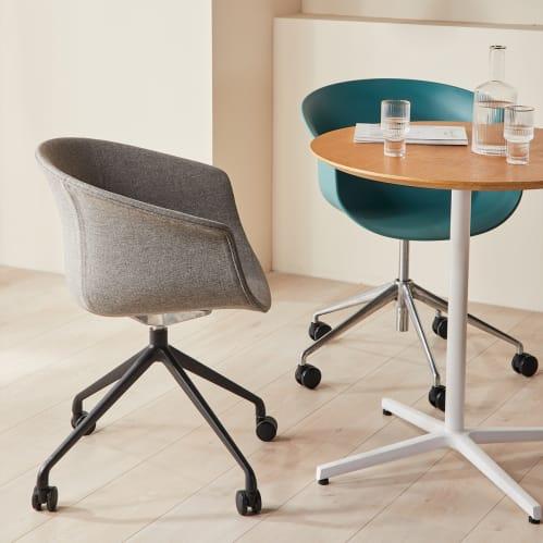 Queen Office Chair - Grey / Black