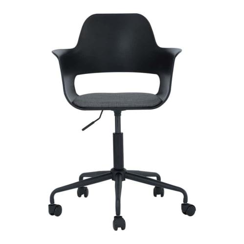Liah Swivel Office Chair - Black