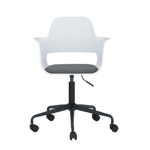 Liah Swivel Office Chair - White