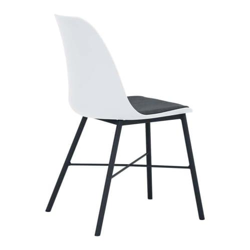 Set of 2 - Rena Dining Chair - Black/White