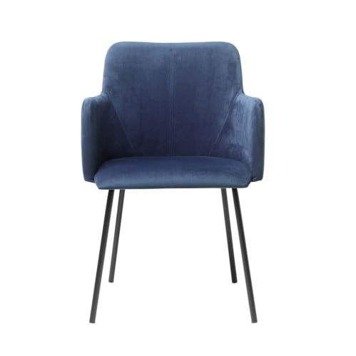 Set of 2 - Camellia Dining Chair - Blue