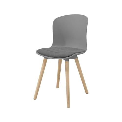 Iris Dining Chair - Grey/Oak