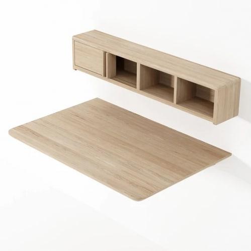 East Desk Module - Oak