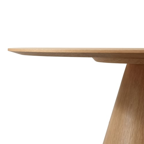 Captivate Round Dining Table - Oak